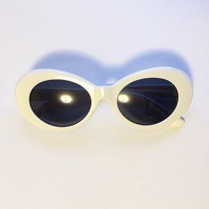 Mod Retro Clout Goggles White Sunglasses
